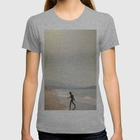 Kreta Womens Fitted Tee Athletic Grey SMALL