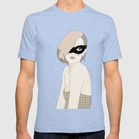 I Surrender Dear Mens Fitted Tee Tri-Blue SMALL