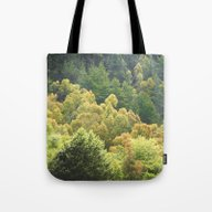 Forrest Green Tote Bag