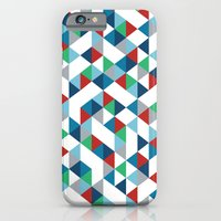 iPhone & iPod Case featuring Triangles #3 by Project M