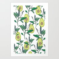 AVOCADO Art Print