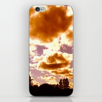 Fire Puffs iPhone & iPod Skin