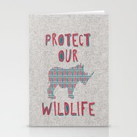 Protect Our Wildlife 23 Stationery Cards