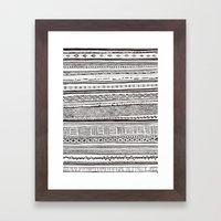 Analogue Framed Art Print