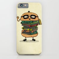 iPhone & iPod Case featuring Geek Burger v.2 by Ifan Rofiyandi
