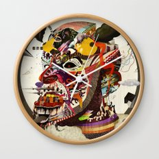 Mr. Nice Wall Clock