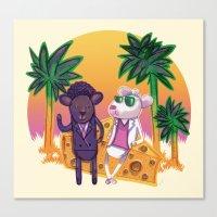 Miami Mice Canvas Print