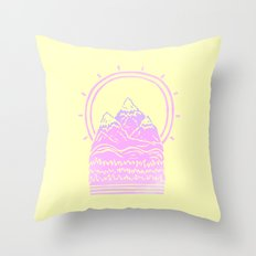 Tiny Landscape Throw Pillow