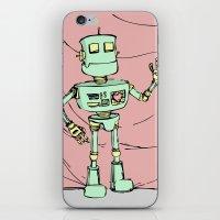 Robot Jones iPhone & iPod Skin