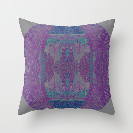 Jewel Tones II Throw Pillow by Devin Stout Society6