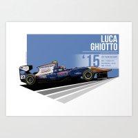 Luca Ghiotto - 2015 Spa Art Print
