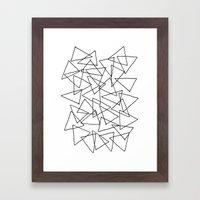 Shapes 014 Framed Art Print