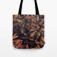 Leaves Evolved 5 Tote Bag