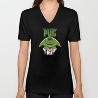 The Incredible Pug Unisex V-Neck