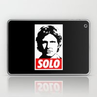 Obey Han Solo (solo text version) - Star Wars Laptop & iPad Skin