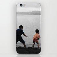 On The Lake iPhone & iPod Skin