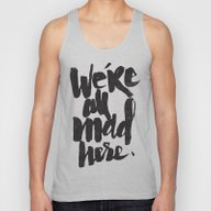 ...MAD HERE Unisex Tank Top