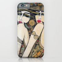 iPhone & iPod Case featuring LES DEMOISELLES by ALBENA