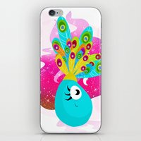 Fortune Feather Teller iPhone & iPod Skin