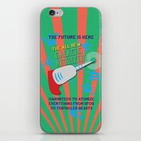 The Galactic Atomizer iPhone & iPod Skin