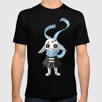 Rag Doll Mens Fitted Tee Black SMALL