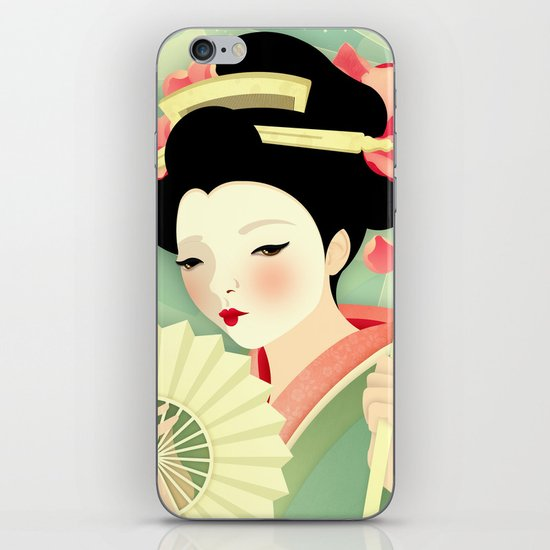 Geisha: Rose iPhone & iPod Skin