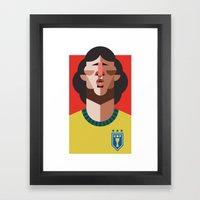 Z10 | A Seleção Framed Art Print