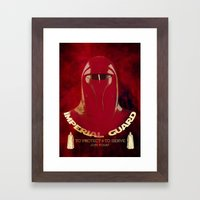Imperial Guard Framed Art Print
