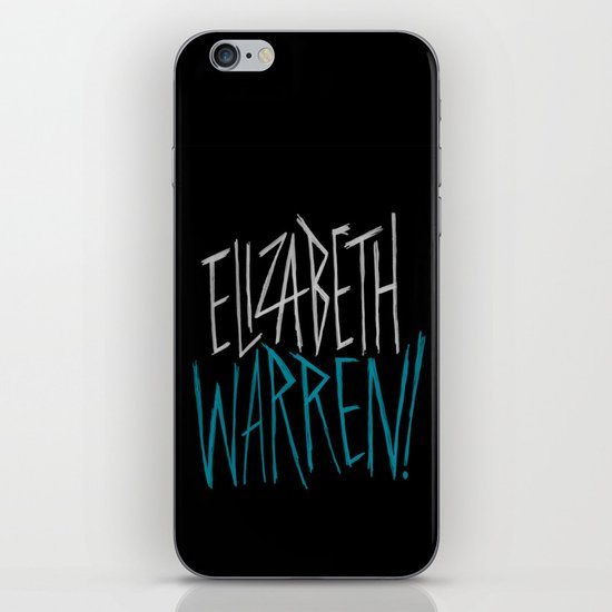 Elizabeth Warren! iPhone & iPod Skin