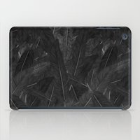 Feathered (Black). iPad Case