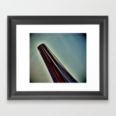 Neck Framed Art Print