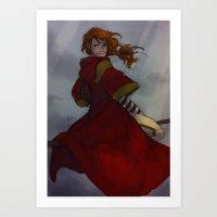 Ginny Weasley Art Print