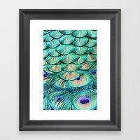 Shimmering Beauty Framed Art Print