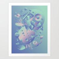 Geometromorphic Space Art Print