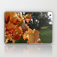Autumn Grape Leafs Laptop & iPad Skin