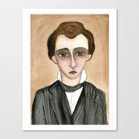 Lucian Canvas Print