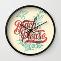 Beach Please Wall Clock