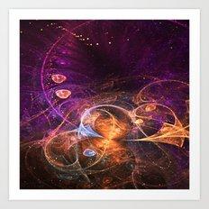 Fairy Grove Art Print