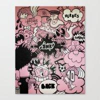 Heroes Strikes Back Canvas Print