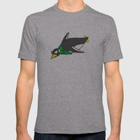 penguin Mens Fitted Tee Athletic Grey SMALL