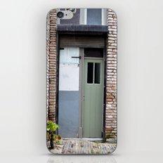 Narrow door iPhone & iPod Skin