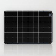 Black Grid /// www.pencilmeinstationery.com iPad Case