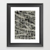 Texture Mix Framed Art Print