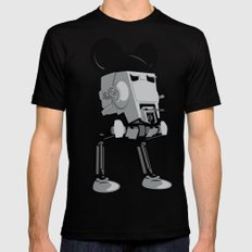 Mouse Walker SMALL Mens Fitted Tee Black