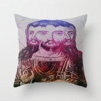 Thrice Christ Throw Pillow