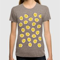 Passion Fruit Womens Fitted Tee Tri-Coffee SMALL