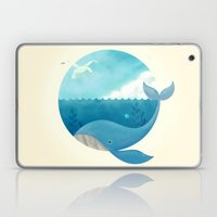 Whale & Seagull (US and THEM) Laptop & iPad Skin