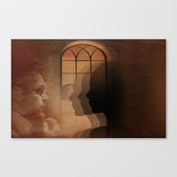 Theatre Of Shadows Canvas Print