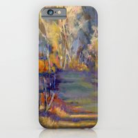 iPhone & iPod Case featuring Along The Fence by Jeannette Stutzman