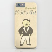 iPhone & iPod Case featuring 1950s Artwork by Joe Hilditch